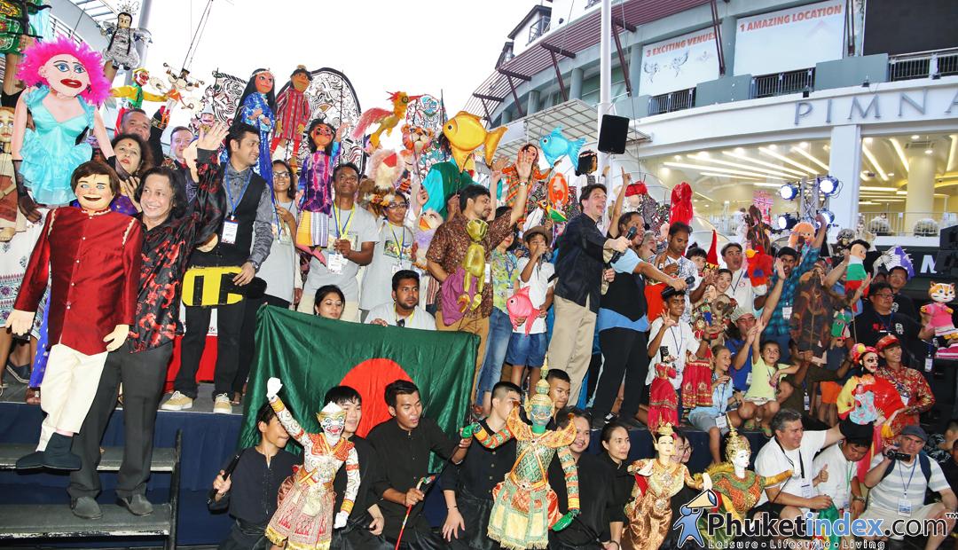 Welcome Ceremonies – Phuket Harmony World Puppet Festival 2018