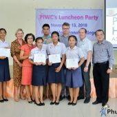 Scholarship Ceremony by PHA and PIWC