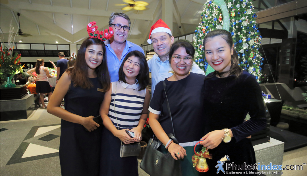 Christmas Tree Lighting Ceremony at Dusit Thani Laguna Phuket