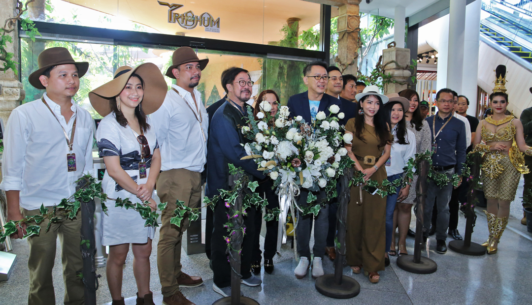 "TRIBHUM ""Beyond the Horizon of Fantasy"" at Central Phuket Floresta"