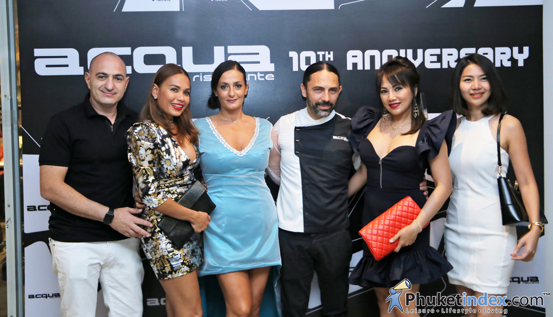 "10th Anniversary ""Acqua Restaurant"" Phuket"