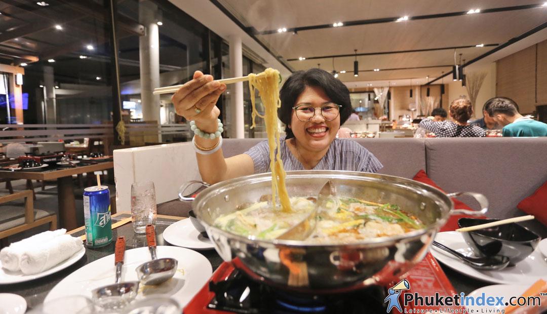 Shabu-Q at Panache Restaurant, Angsana Phuket