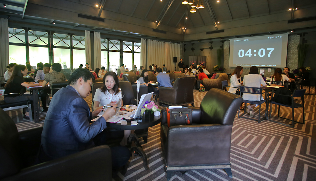 Thailand Luxury Sales Meeting 2019 by TAT East Asia Market at Phuket
