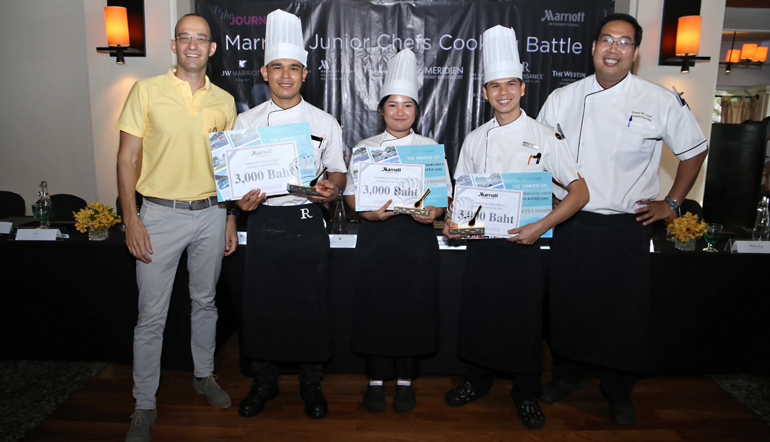 The 3rd Marriott Junior Chefs Cooking Battle 2019, Phuket