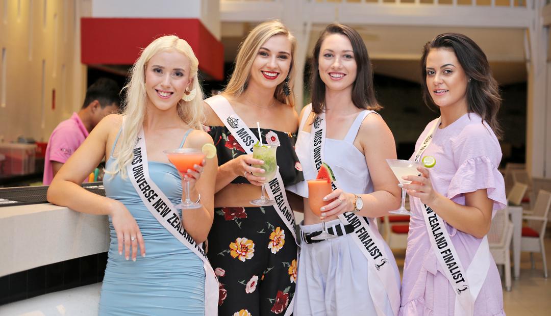 Dinner with Miss Universe New Zealand at XANA beach club, Phuket