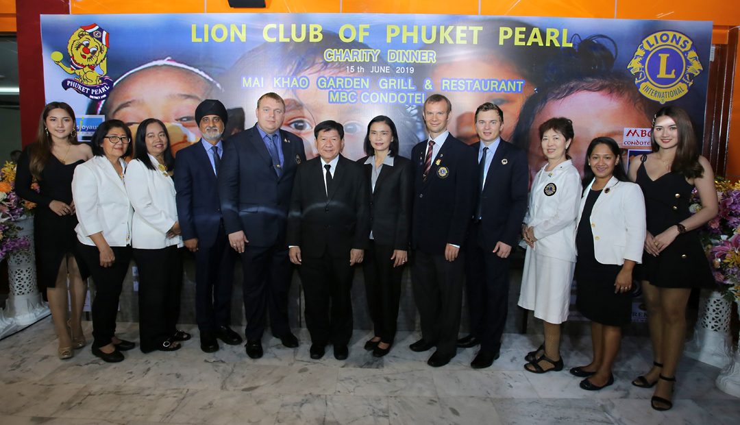 "Charity Dinner ""Open Your Heart"" by Lions Club of Phuket Pearl"