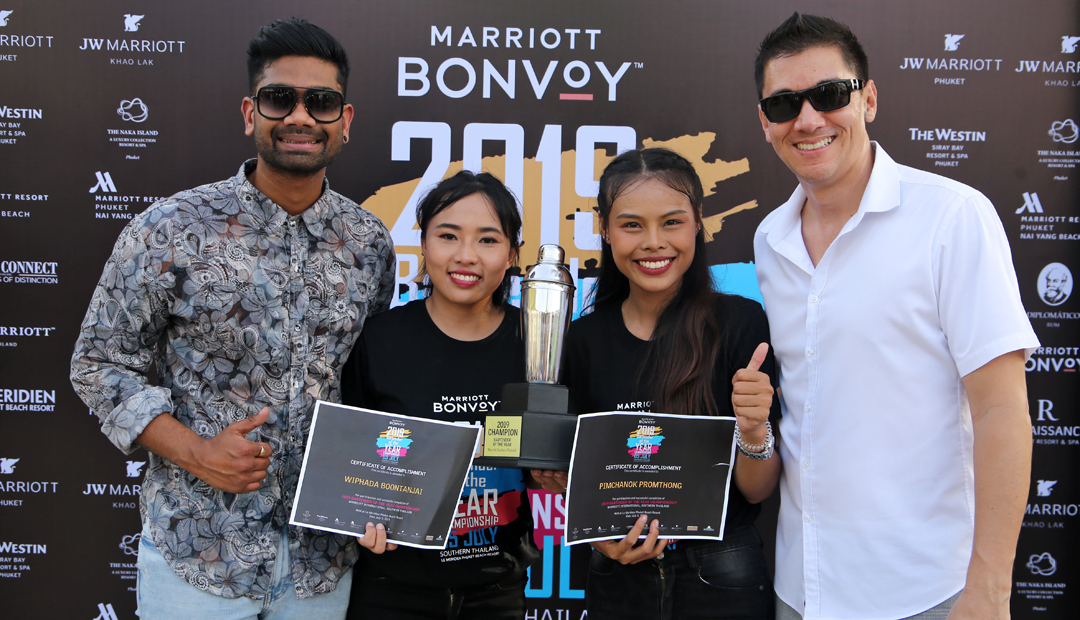 2019 Bartender of the Year Championship at Le MERIDIEN Phuket Beach Resort
