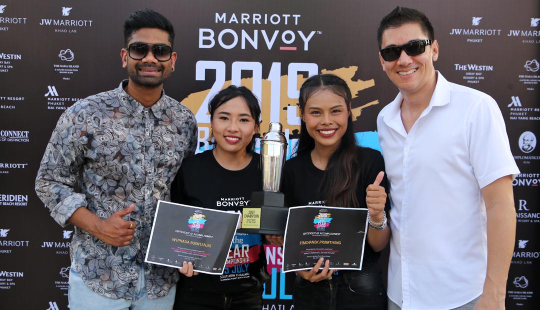 2019 Bartender of the Year Championship at Le MERIDIEN Phuket Beach Resort