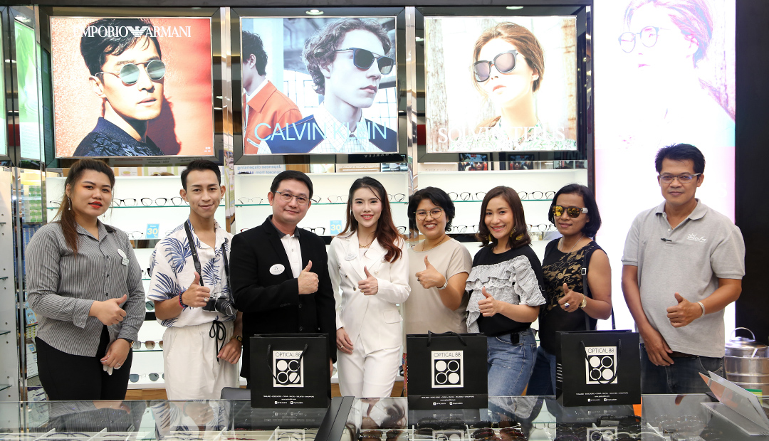 Grand Opening of OPTICAL 88, Phuket