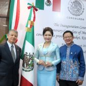 The Inauguration Ceremony of the Honorary Consulate of Maxico,  Phuket