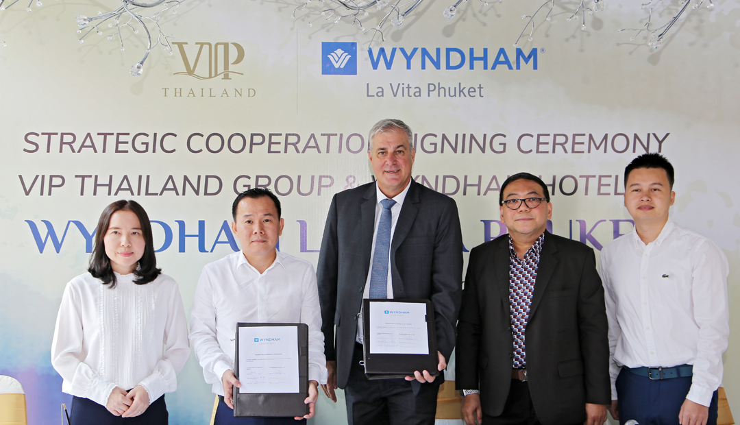 Wyndham La Vita Phuket - Agreement Signing, Phuket