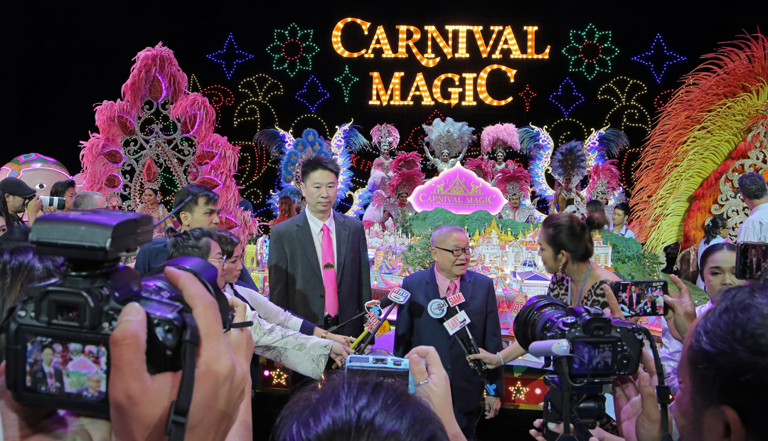 'Carnival Magic' – the world's first Thai Carnival Theme Park!