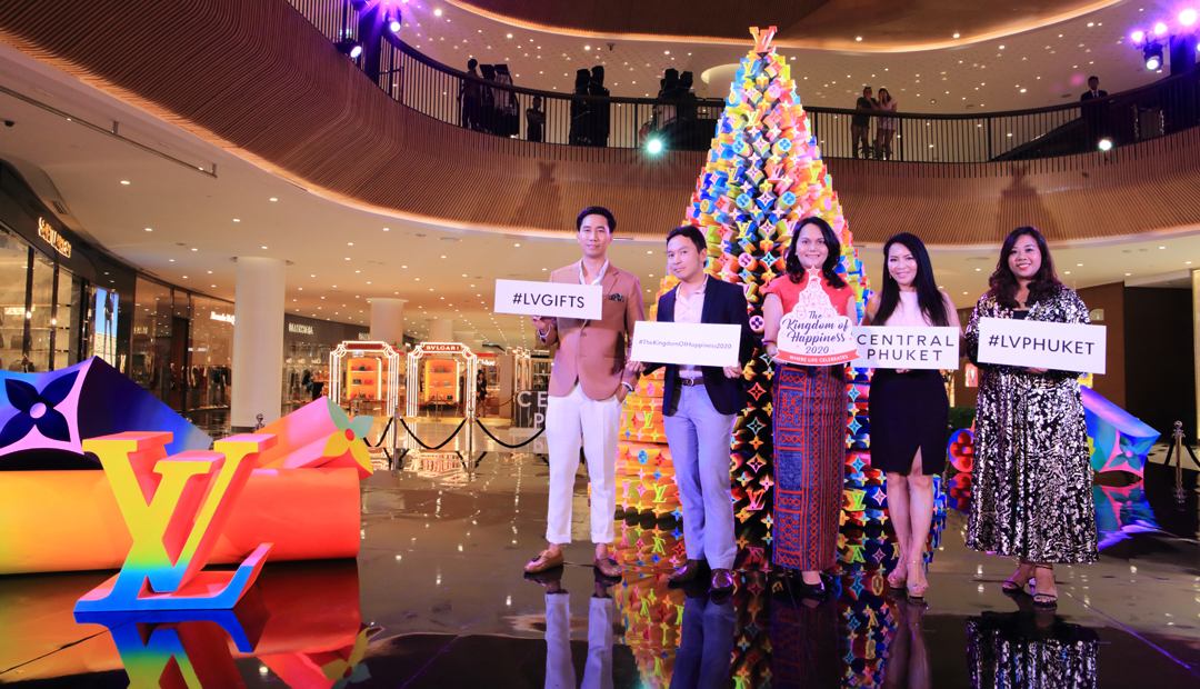 Christmas Tree Lighting by Central Phuket & Louis Vuitton