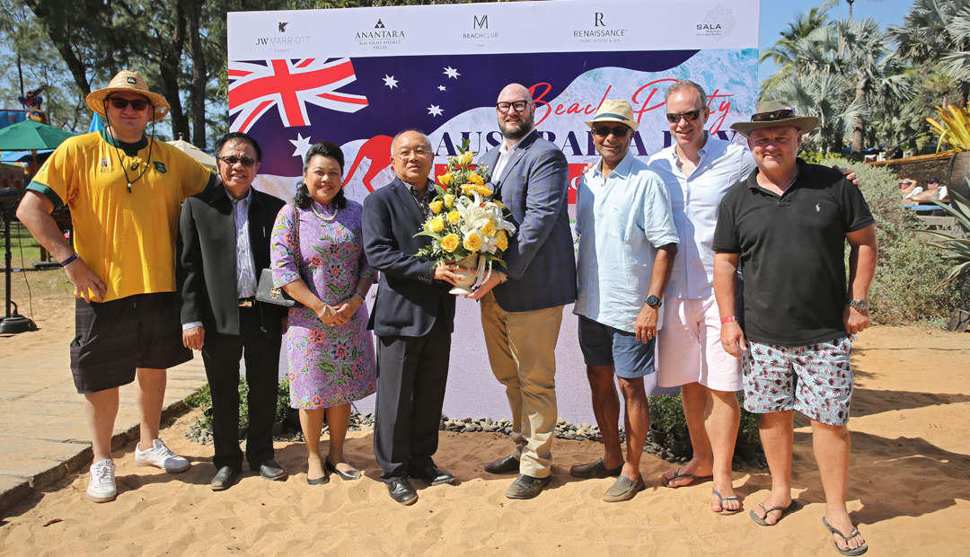 Australia Day Celebrations at Mai Khao Beach, Phuket