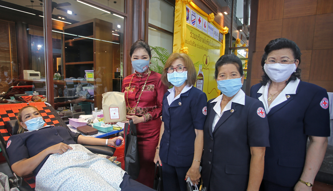 The 8th Blood Donation at The Plaza Surin, Phuket