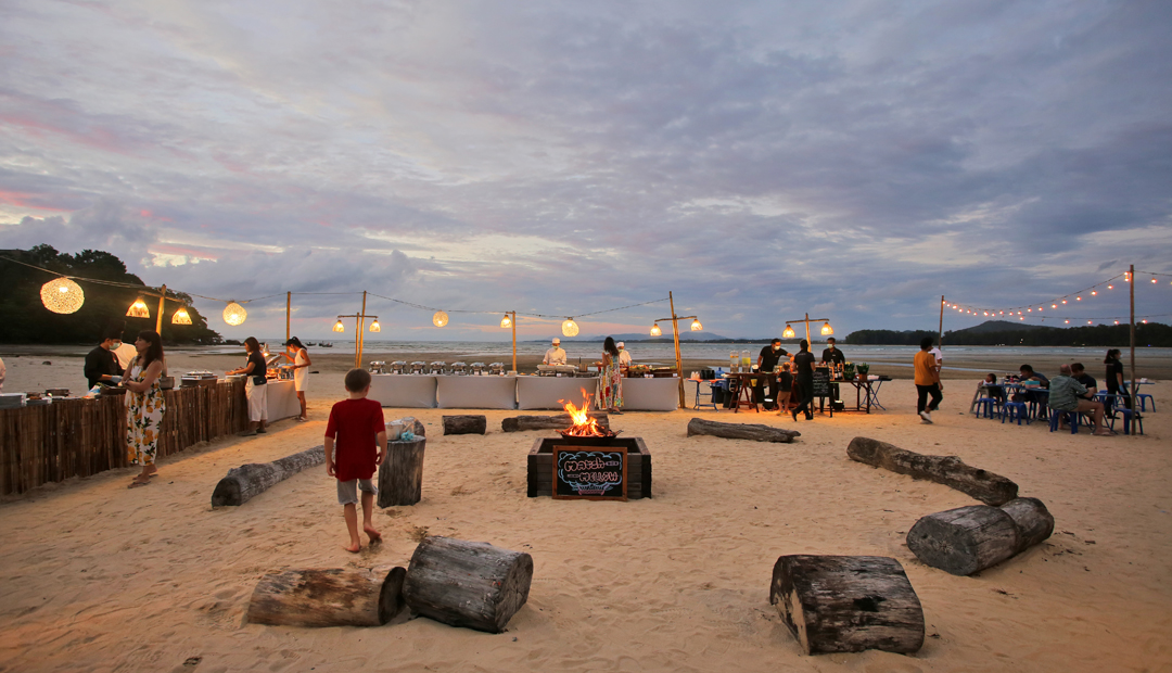 BBQ Buffet on Nai Yang Beach at Phuket Marriott Resort and Spa