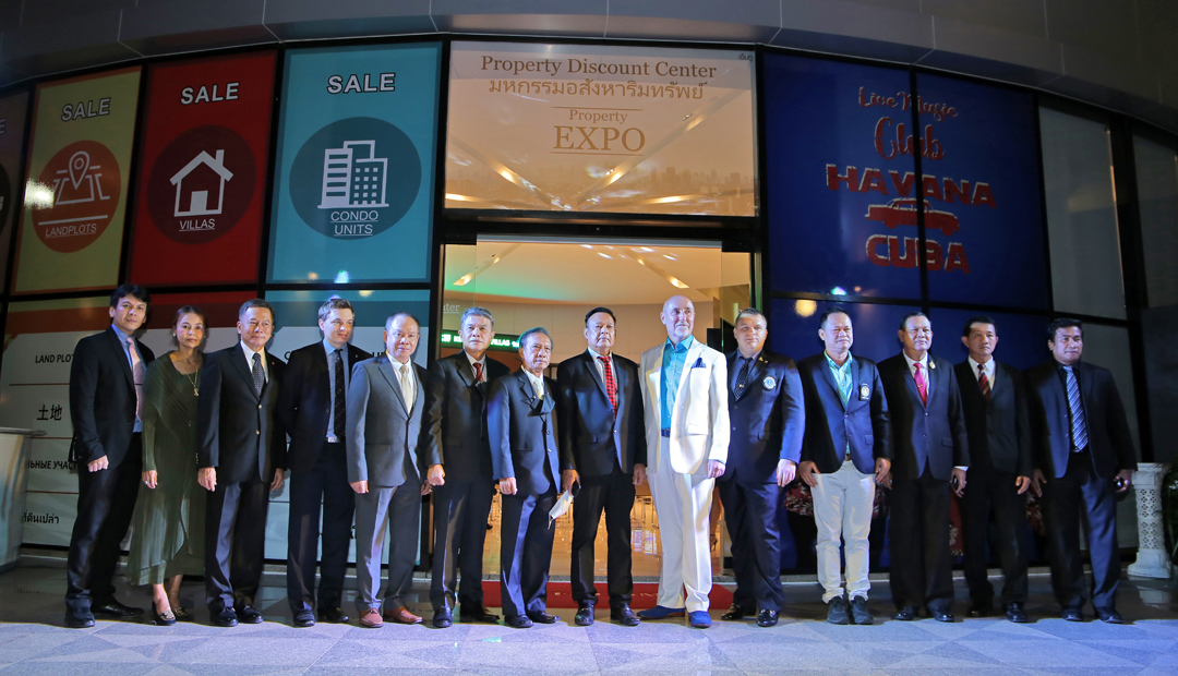 Grand Opening of the Property Discount Center Thailand