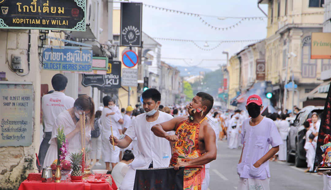 Vegetarian Festival Parade 2020 – Kathu Shrine & Yok Ke Keng Shrine, Phuket