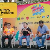 Press conference: Fun Run and Beach Party – Songkran Holidays, Laguna Phuket
